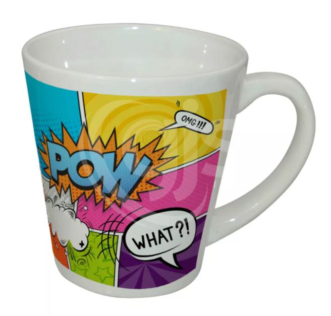 12oz sublimation latte mug