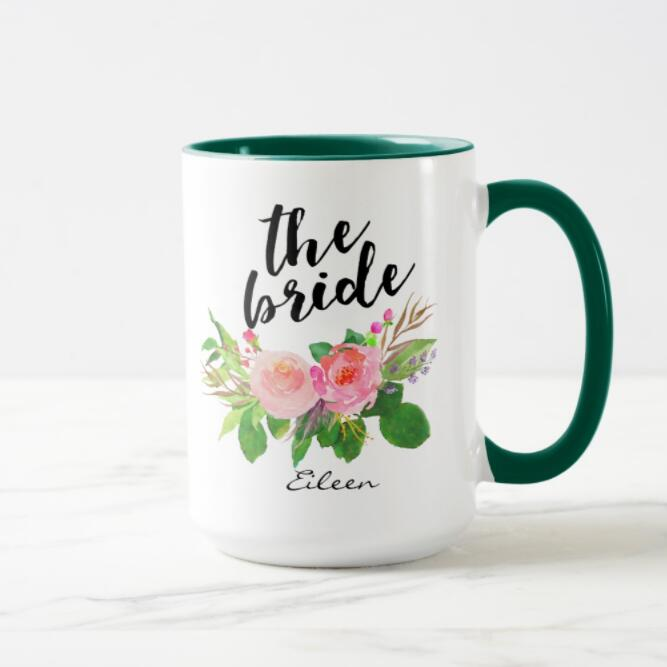 15oz Two Tone Color MUG Green