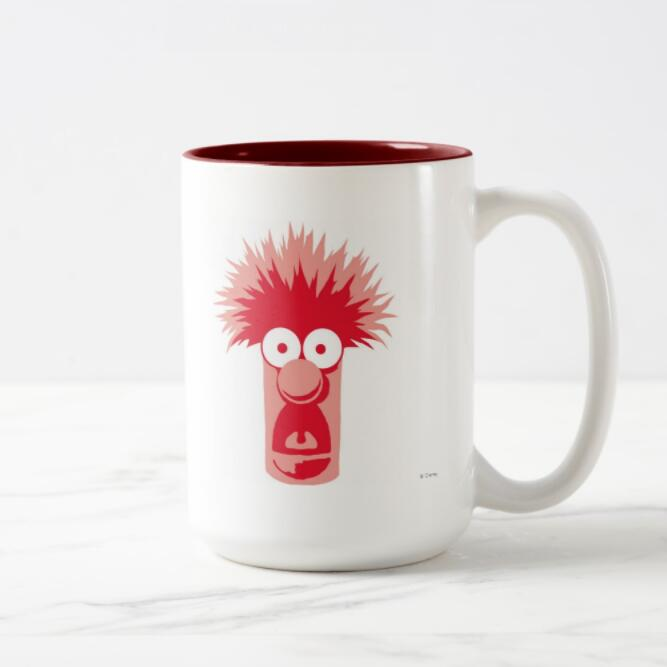 15oz handle Color MUG-Red