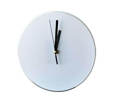 Sublimation Clock-Round Dia 20CM