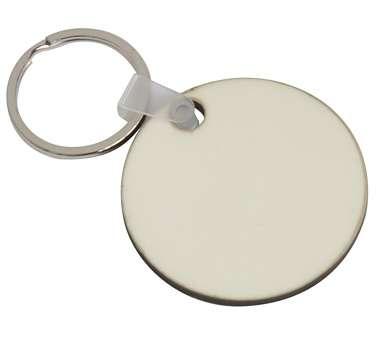 MDF Round Key Ring Dia. 5cm