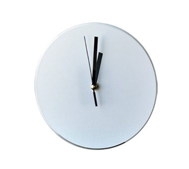 Sublimation Clock,Round Dia 18.5CM