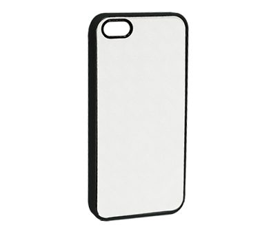2D Sublimation Aluminum Sheet + Silicon Case  For  Iphone 5/5S