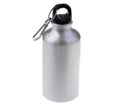 500ml Silver Aluminum Bottle