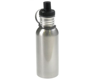 600ml Silver Stainless Bottle