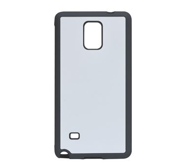 2D Sublimation Aluminum Sheet + Silicon Case  For  Samsung Note4