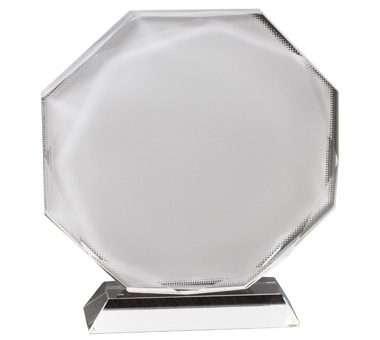 Sublimation Crystal,Octagonal,Dia 16CM