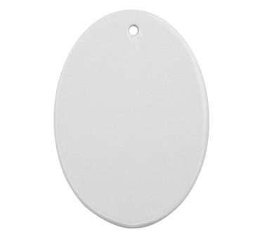 Sublimation Ceramic Oval Ornament