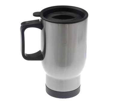 Silver Sublimation Stainless Steel Travel Mug