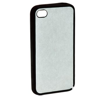 2D Sublimation Aluminum Sheet + Silicon Case  For  Iphone 4/4S
