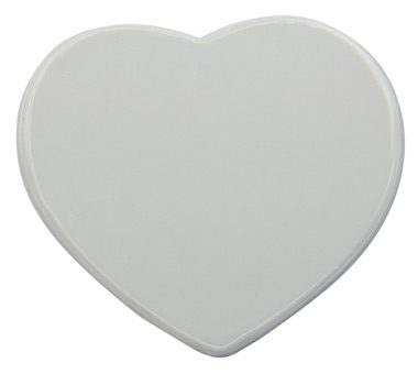 Sublimation Tile In 6 inch Heart Sharp