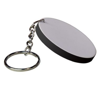 Hard Plastic Rectangle Key Ring 48*68mm