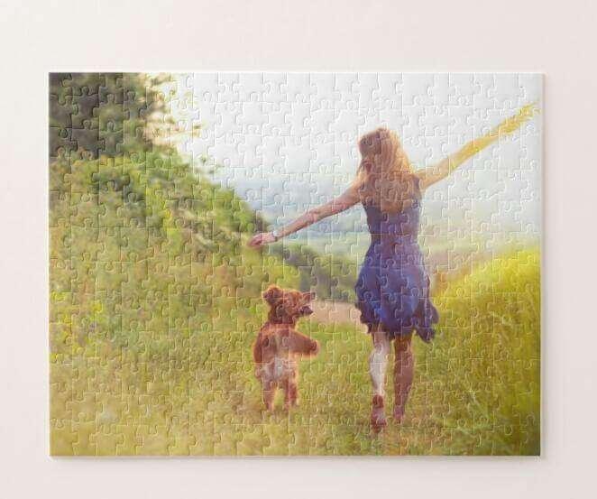 Cardboard Jigsaw Puzzle A4