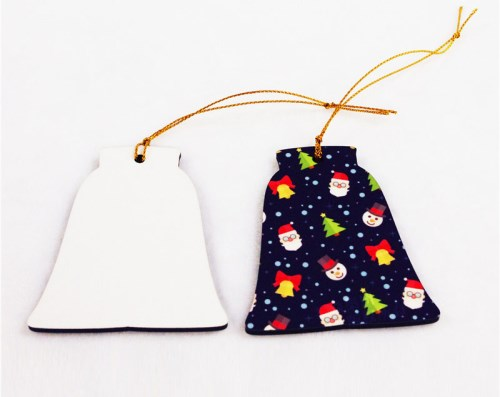 Sublimation Ceramic Bell Ornament