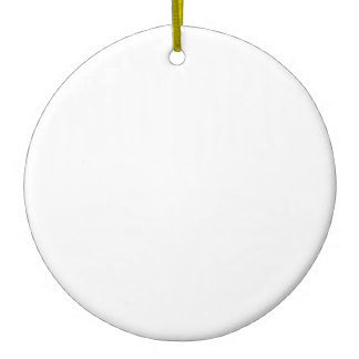 Sublimation Ceramic Round Ornament