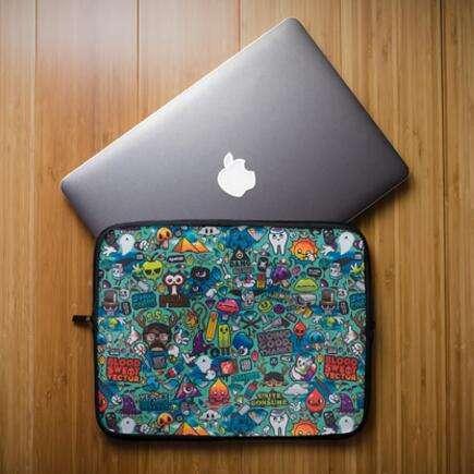 Sublimation Neoprene Sleeve Case for laptop