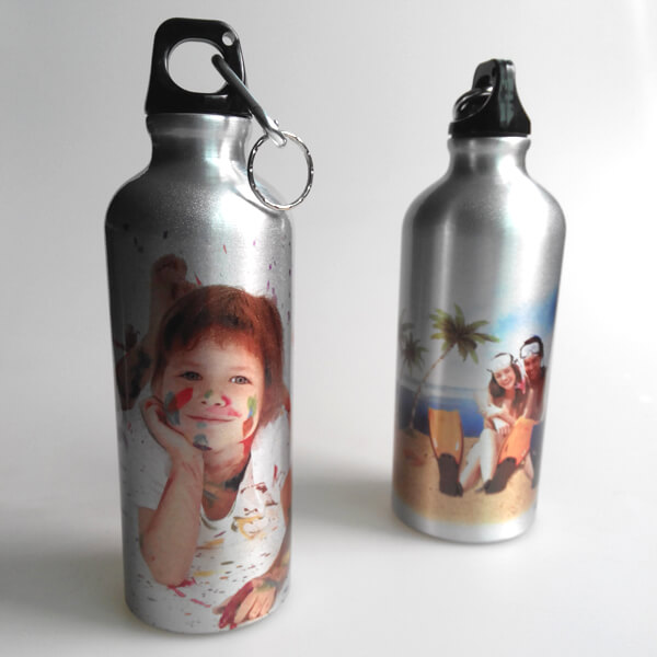 600ml silver sublimation water bottle