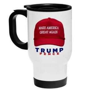 White Sublimation Stainless Steel Travel Mug