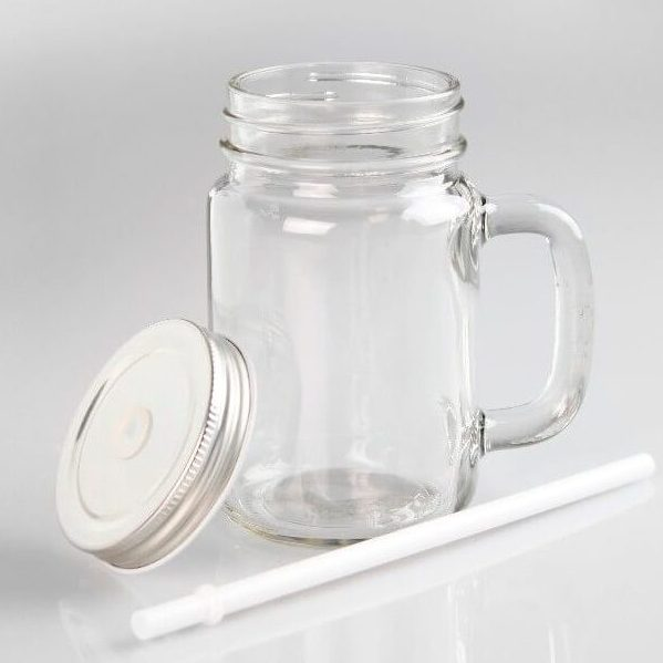 Sublimation 11oz Clear Glass Mug