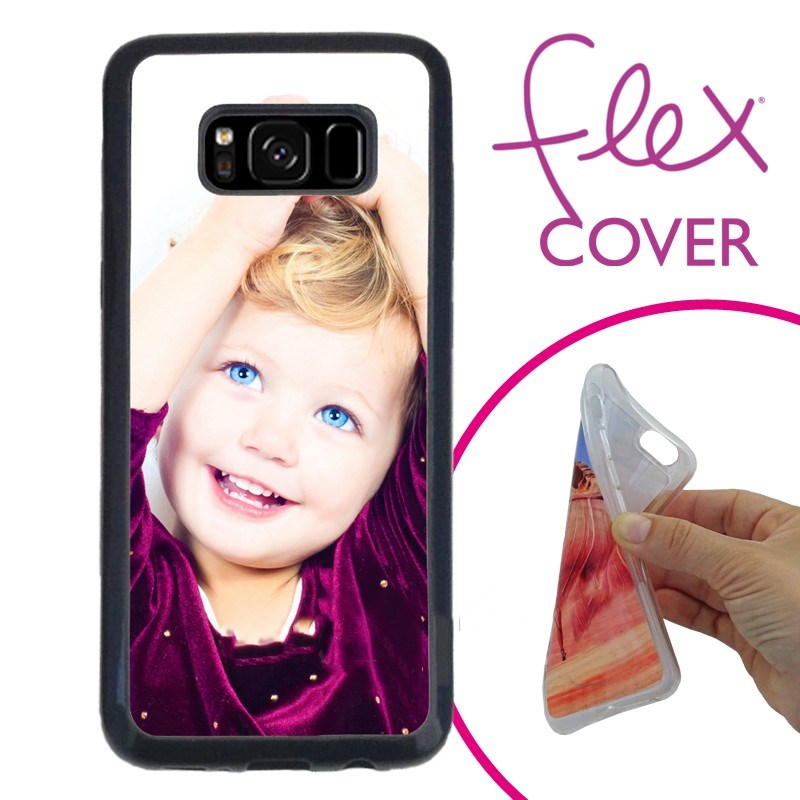 2D Sublimation Flexible Phone Case FOR GALAXY S8