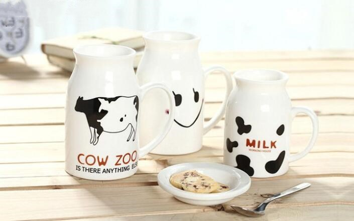 Cute Sublimation Milk Mug 500ML
