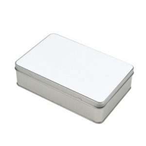 SUBLIMATION SQUARE METAL CANDY TIN