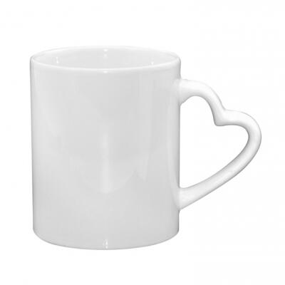 12oz Sublimation Ceramic Latte White Mug
