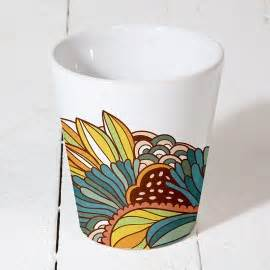 Sublimation Ceramic Flower Pot