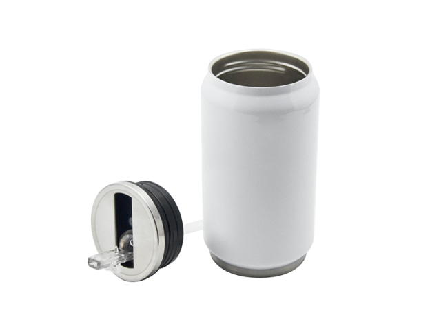 Sublimation Stainless Steel White Coke Can 350ml