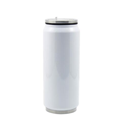 Sublimation Stainless Steel Silver Coke Can 350ml