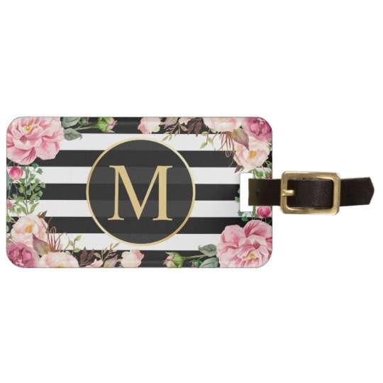 MDF Rectangle Luggae tag