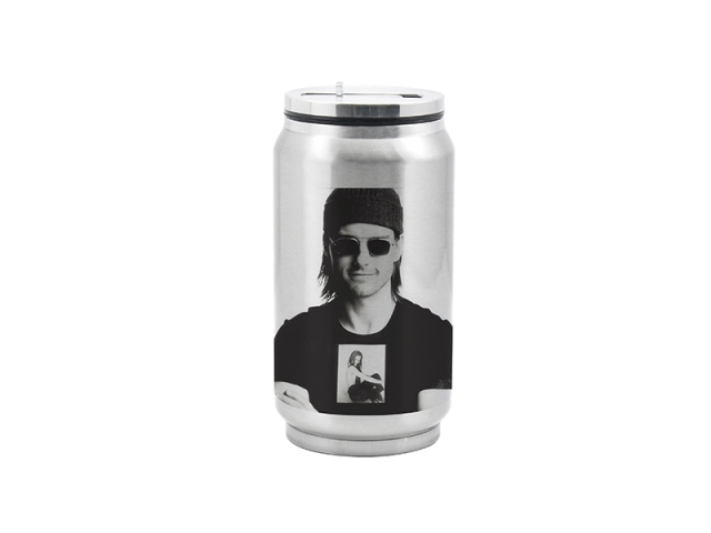 Sublimation Stainlesssteel silver Coke Can 350ML