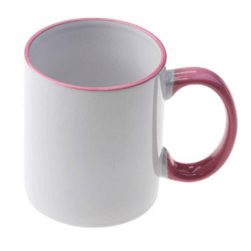 Sublimation 10oz White Mug Straight Top