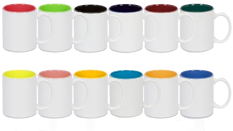 11oz Sublimation Ceramic Inner Color Mug