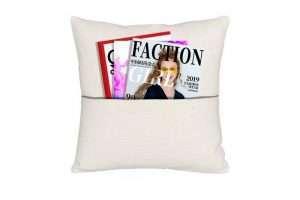 Sublimation Linen Pocket Cushion Cover