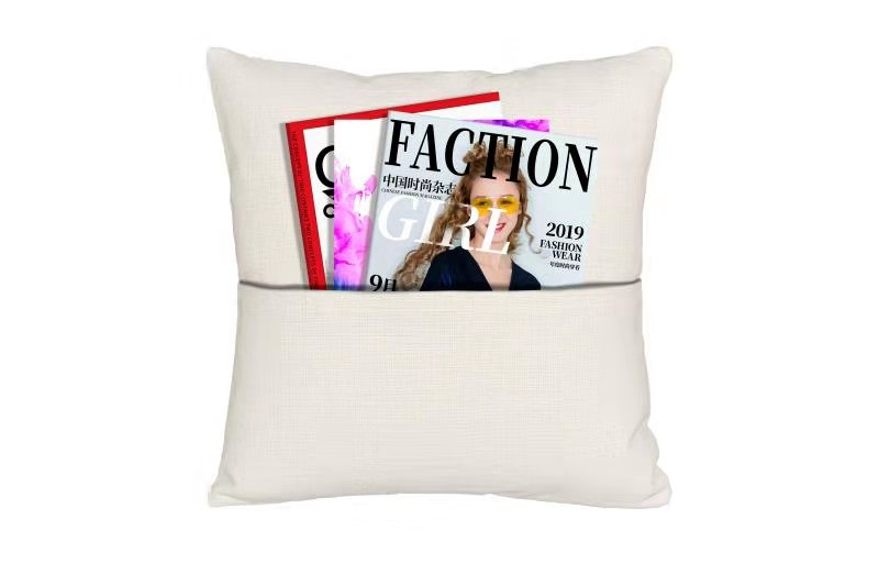 Sublimation Linen Pocket Cushion Cover