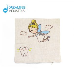 Sublimation Tooth Fairy Cushion Cover