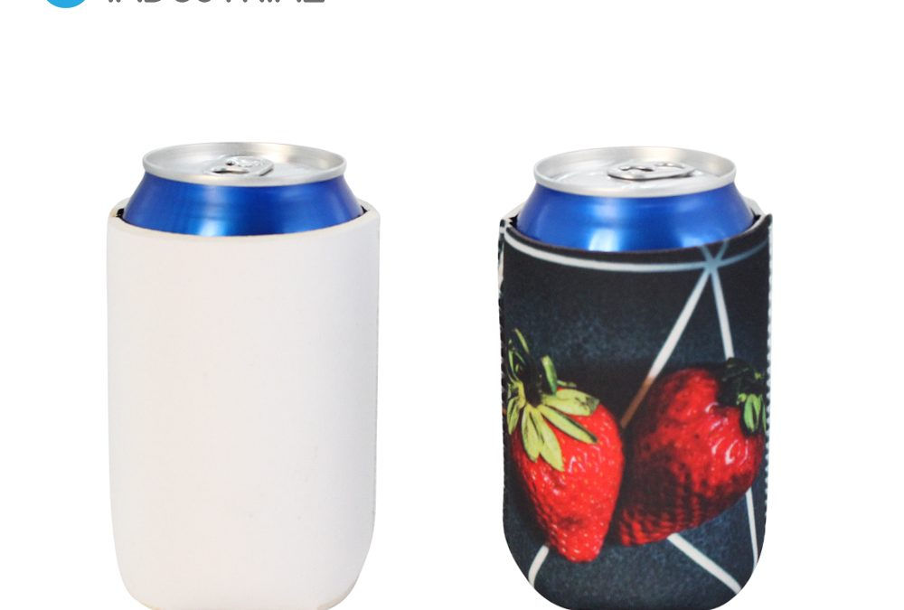 New Arrival!! Sublimation Neoprene Can cooler/ Sublimation Blank Can holder/ Personalized Can cooler