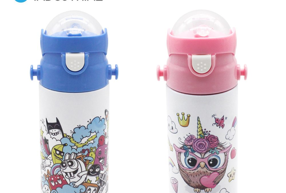 Sublimation Blank stainless steel kid thermal bottle/ Sublimation Blank Vacuum Bottle for kids
