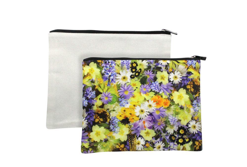 High Quality Promotional Christmas Sublimation Linen Santa Sack/Sublimation Linen Drawstring Bag for Christmas Day
