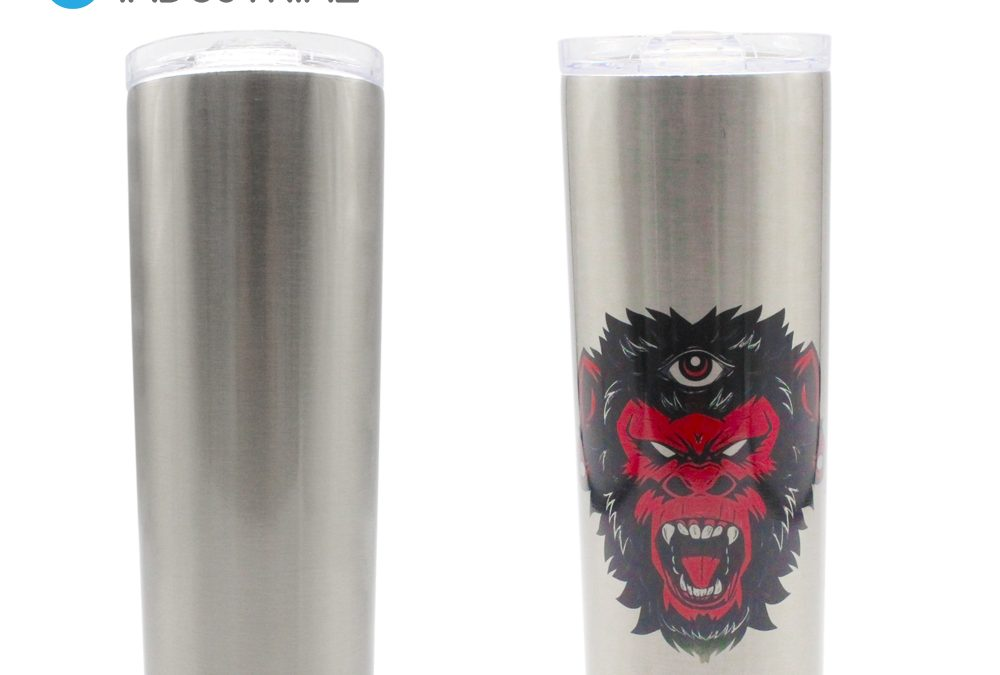 Sublimation Stainless Steel Silver Coke Can 500ml