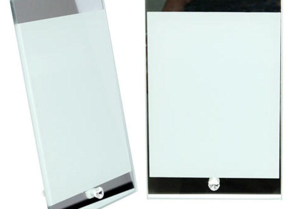 Sublimation Mirror Edge Photo Frame