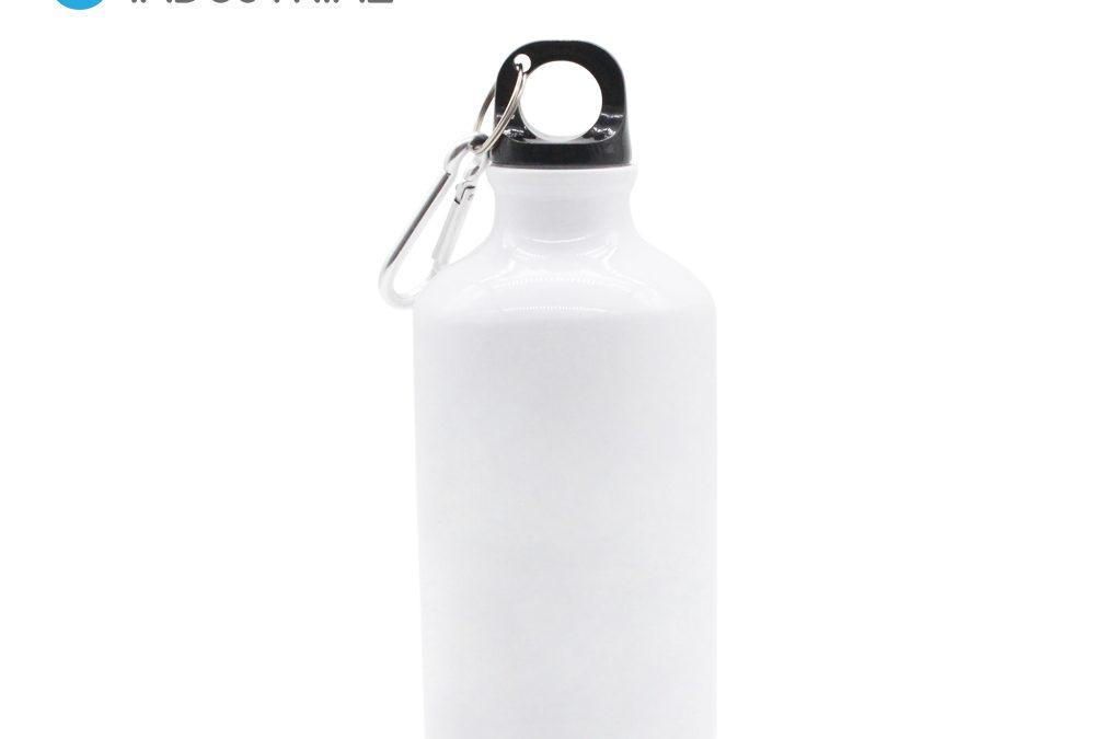 Sublimation 400ml Aluminium Water Drink Bottle White/ Sublimation Blank Sport Bottle