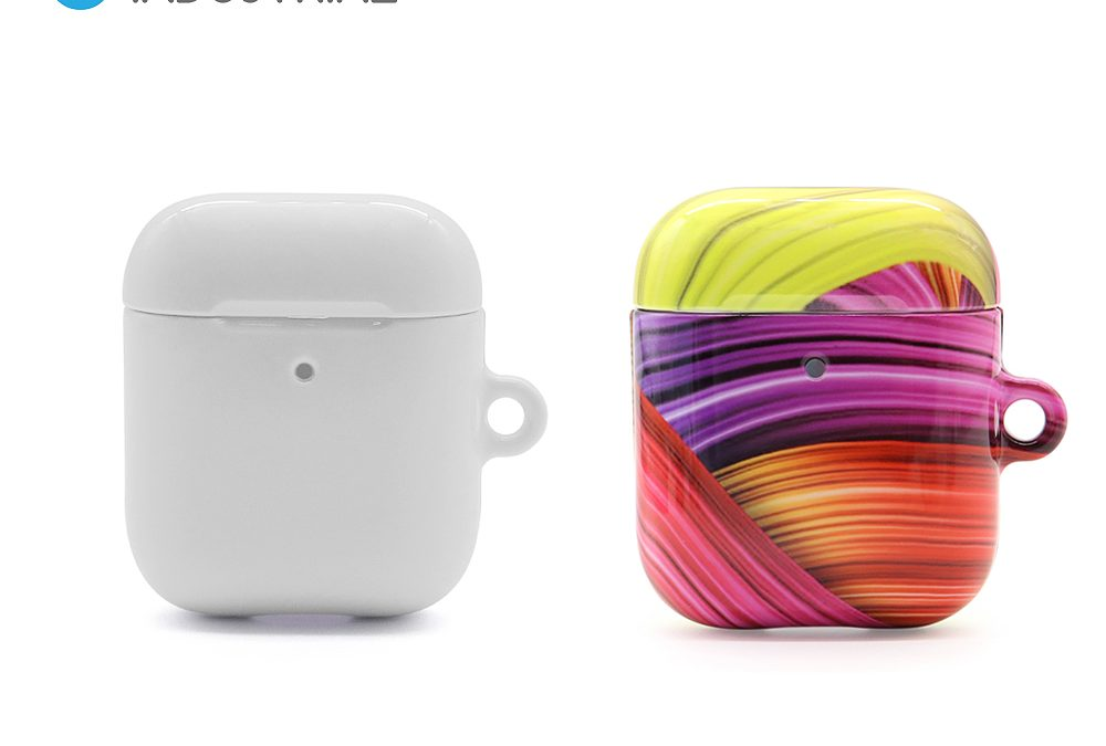 Sublimation Airpods case protector cover PC coated wireless earphone sleeve